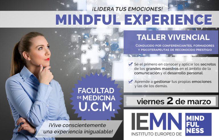 MINDFUL EXPERIENCE: LIDERA TUS EMOCIONES ®